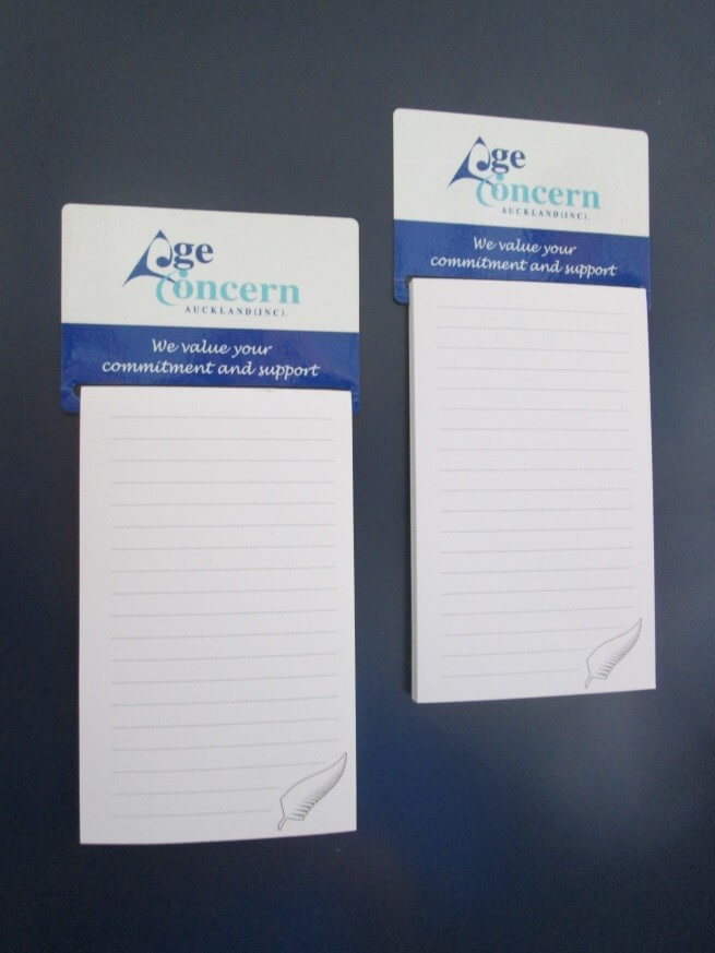 Magnetic Notepads - Click to enlarge picture.